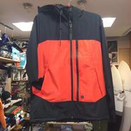 VOLCOM(ボルコム) Amberson Jacket A1631557アウタージャケット カラー/ブラック&オレンジ  サイズ/MEDIUM