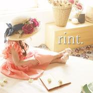 *6月29日12:00発売*BONNE flower ribbon麦わら帽子 ネイビー《51㎝》
