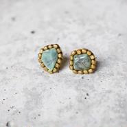 Gemstone「Emerald」ピアス