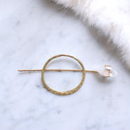 Himalayan crystal hair jewelry