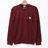 Carhartt(カーハート)- Humboldt Sweater -Cordovan
