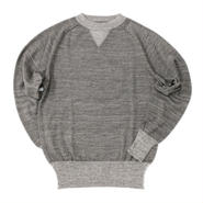 Nigel Cabourn(ナイジェルケーボン)- SWEATSHIRT WHOLE GARMENT -Gray