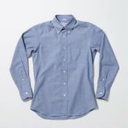 INDIVIDUALIZED SHIRT(インディビジュアライズドシャツ)STANDARD FIT Heritage Chambray Blue/J81BCO【再入荷】