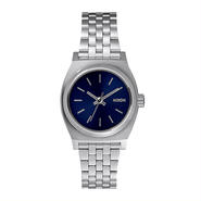"""Ladie's /NIXON(ニクソン)""""THE SMALL TIME TELLER"""" ALL SILVER/COBALT【2015 S/S】"""