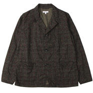 "Engineered Garments(エンジニアードガーメンツ)""Loiter Jacket - Java Cloth"" Olive Floral"""