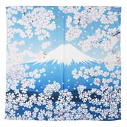 """BLUE BLUE JAPAN(ブルーブルージャパン)""""フジサンサクラ バンダナ"""""""
