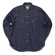 LEVI'S VINTAGE CLOTHING(リーバイス ビンテージクロージング)-50's Western Denim Shirt -Rinse