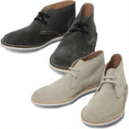 "NEPCO FOOTWEAR(ネプコ フットウェア)""Ripple Sole Suede Chukka Boot - Suede"""