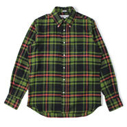 INDIVIDUALIZED SHIRTS(インディビジュアライズドシャツ)-1869 FLANNEL CHECK standard fit -055ABP