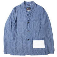 "FRAIZZOLI(フライツォーリ)""CHAMBRAY WORK JACKET"""