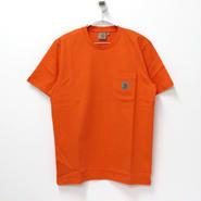 Carhartt(カーハート)- S/S Pocket T-Shirt  -Carhartt Orange