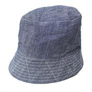 "Engineered Garments(エンジニアード ガーメンツ)""Bucket Hat - Cone Chambray"""