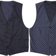 "Engineered Garments(エンジニアード ガーメンツ)""Reversible Vest - Diamond Jacquard"""