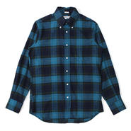 INDIVIDUALIZED SHIRTS(インディビジュアライズドシャツ)-1869 FLANNEL CHECK standard fit -051ABP