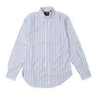 Gitman Vintage(ギットマン ビンテージ)- Button Down Shirt - Zephyr Alternating Stripe