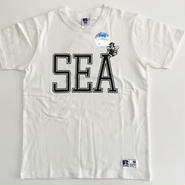"RUSSELL PRO COTTON ""SEA BEE""T ホワイト RC-031"