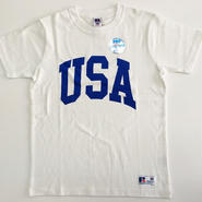 "RUSSELL PRO COTTON ""USA""T ホワイト RC-031"