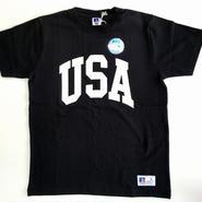 "RUSSELL PRO COTTON ""USA""T ブラック RC-031"