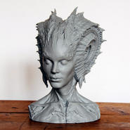 Caracolilla 1/3scale Bust kit