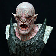 The Great White Orc Bust kit【入荷中】