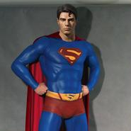スーパーマン等身大