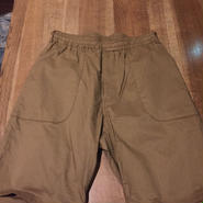blurhms ブラームス Two-Ply Easy Fatigue Shorts