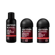 SPORTS BALM  HOT MUSCLE RED