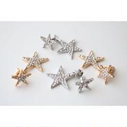 two stars pierce/gold・silver