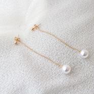 chain pearl pierce