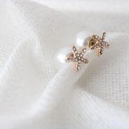 star fish pearl pierce