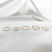 five design set ring