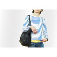 B Wide Tote Bag w/ nylon100