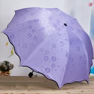 桜が浮き出る 晴雨兼用折り畳み傘