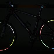 自転車ホイール用反射ステッカー5色セット
