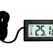 センサーコード付きデジタル温度計+温湿度計2点セット
