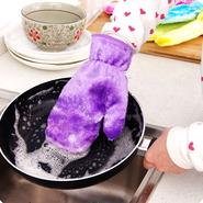 食器洗いスポンジ手袋