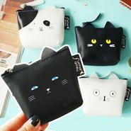 猫 コインケース 財布 コンパクト CAT チャック