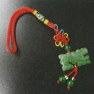 「龍とつながる昇運CDブック」にプレゼントとして提供した財運を高めるトラップ「昇運緑龍」!!