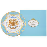 エリザベス女王生誕90年記念サイドプレート(皿) The Queen's 90th Birthday Commemoative Plate