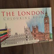 大人の塗り絵「ロンドン」