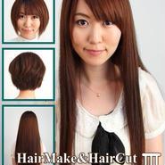 HQ-30 Hairmake&HairCut 月実由衣 Ⅲ DVD