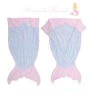 Mermaid  Tail Blanket(SIZE 60×140)