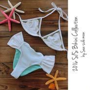 Mermaid Bikini SET(White)