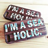 iPhone ラバーケース 【sea holic】
