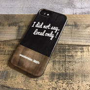 iPhone ラバーケース 【not local only】