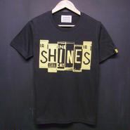 Number plate - Print T-shirts:ナンバープレート Tシャツ ブラック