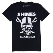 MADE IN JAPAN:Print T-Shirts SHINES/シャインズ・半袖Tシャツ [BLACK]