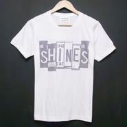 Number plate - Print T-shirts:ナンバープレート Tシャツ ホワイト