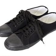 【メンズジョーカー掲載】Blackmans Shoes - ラバートゥ・プリムソールシューズ (ブラック) メンズ 【メンズノンノ】【メンノン】