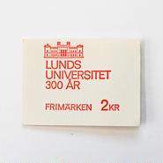 スウェーデン記念スタンプシート (ルンド大学/1968年)